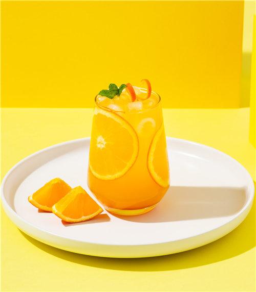 冰摇柳橙茶